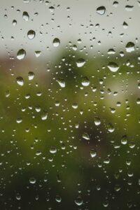 آسمان باران می شود